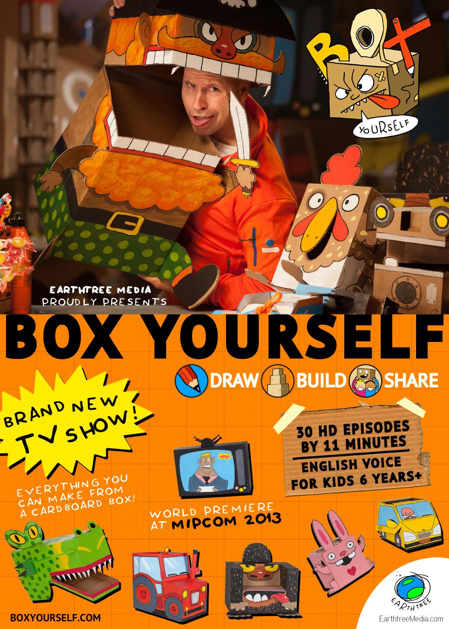 Mipcom 2013 premiere – BoxYourself
