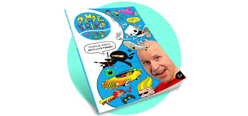 Earthtree Media's Activitiy Book 'Rampestreker' In Norwegian Stores