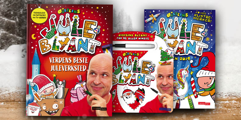 3 new Box X'mas books hit the shelves in Norway