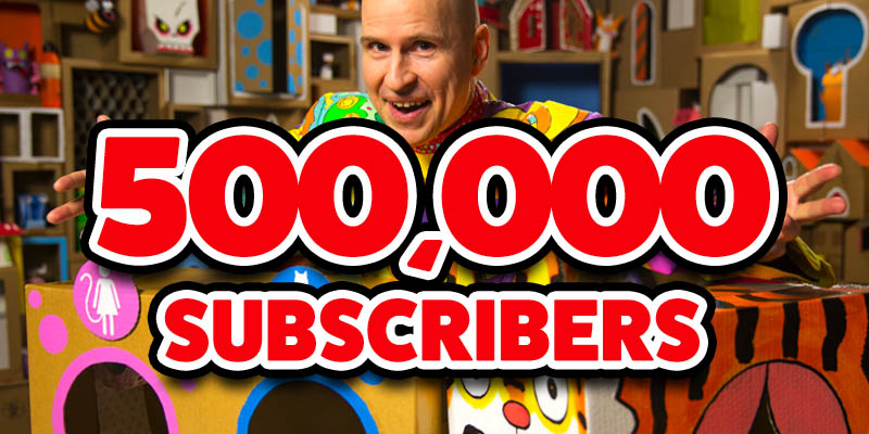 Box Yourself reaches 500k subscribers on YouTube
