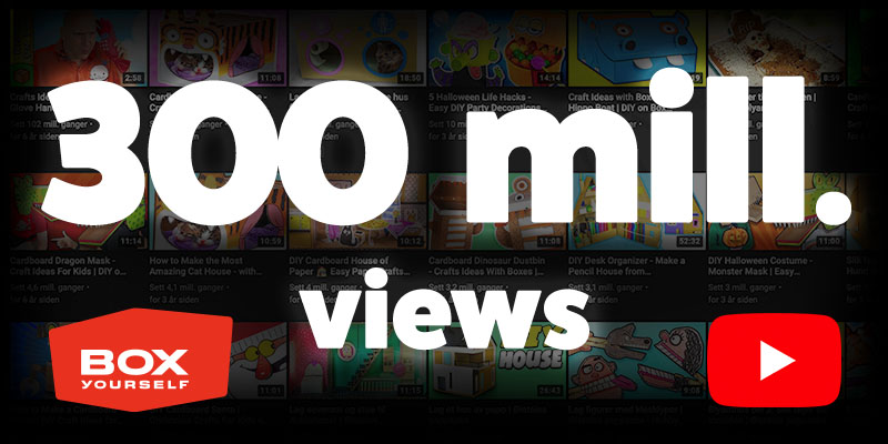 Box Yourself hits 300 million views on YouTube